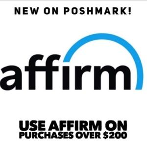 Other - You can buy now and pay later with affirm